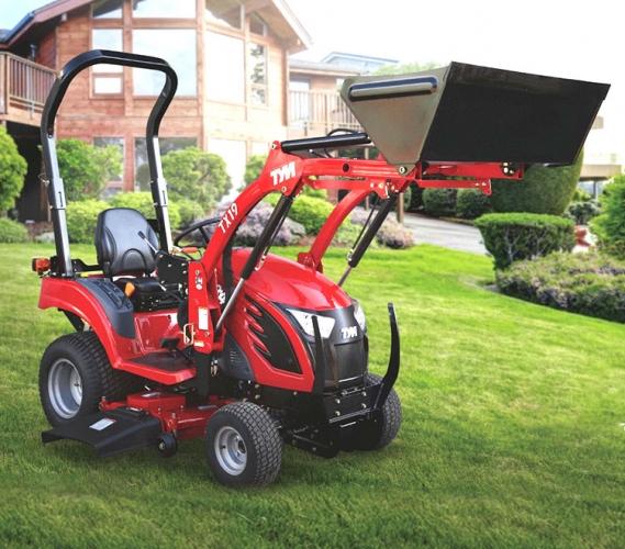 Action promotionnelle - tracteur TYM T194H - tracteur TYM 19 CV avec tondeuse ventrale et chargeur frontal